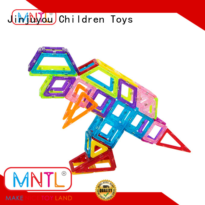 MNTL yellow, Mini magnetic tiles customization For Children