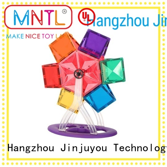 MNTL ABS plastic magnetic tiles DIY For 3 years old