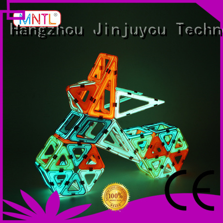 MNTL deep blue, magnetic blocks DIY For kids