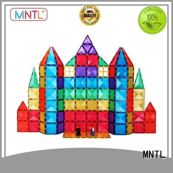 MNTL portable Magnetic Building Tiles Best building block For 3 years old