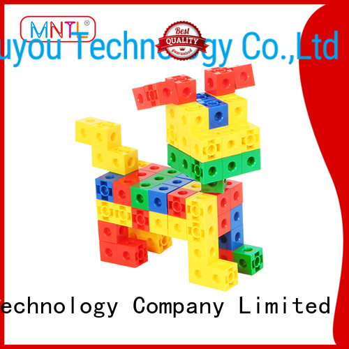 MNTL yellow, plastic blocks toys yellow, For Toddler
