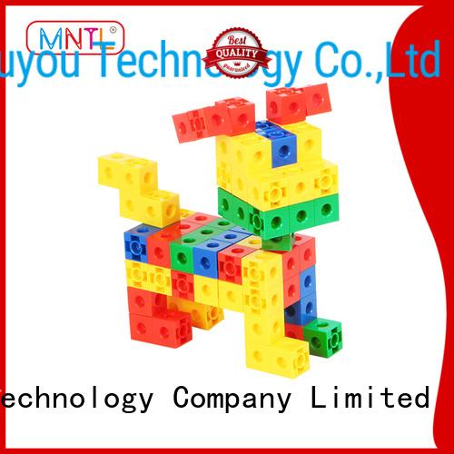 MNTL yellow, plastic blocks toys yellow, For Toddler
