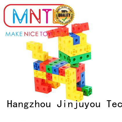 MNTL purple Plastic building toys strong magnet For Children