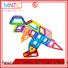 Best toy for children Mini building magnets deep blue ODM For Children