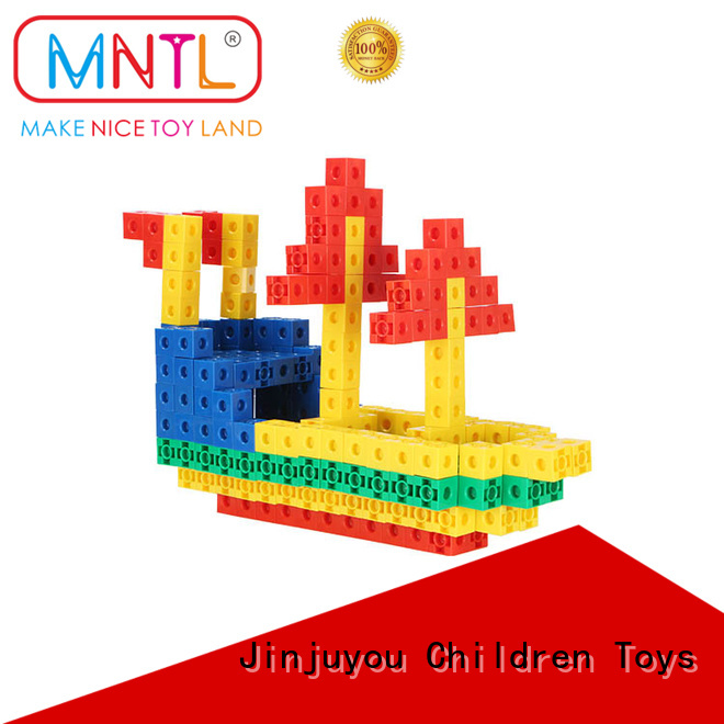 MNTL High quality plastic baby blocks blue, For kids