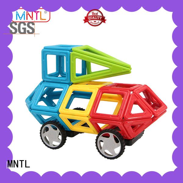 MNTL purple magnetic blocks Magnetic Construction Toys For Children