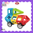 Hot building block Classic Magnetic Building Blocks rose red Magnetic Construction Toys For kids
