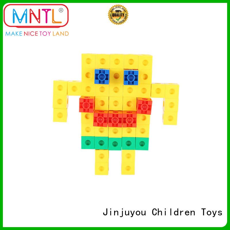 MNTL orange, plastic building blocks purple For Children
