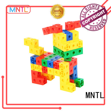 MNTL orange, Plastic Magnetic Building Tiles rose red For kids
