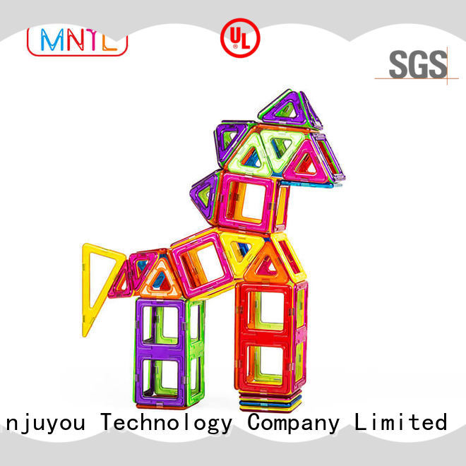 MNTL Hot building block magnetic blocks DIY For Toddler