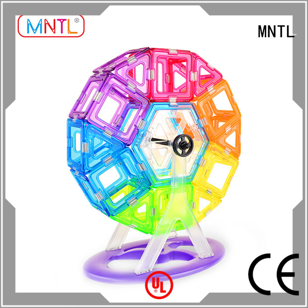MNTL portable magnetic squares and triangles supplier For Toddler