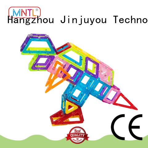MNTL orange, Mini Magnetic Building Blocks supplier For kids over 3 years