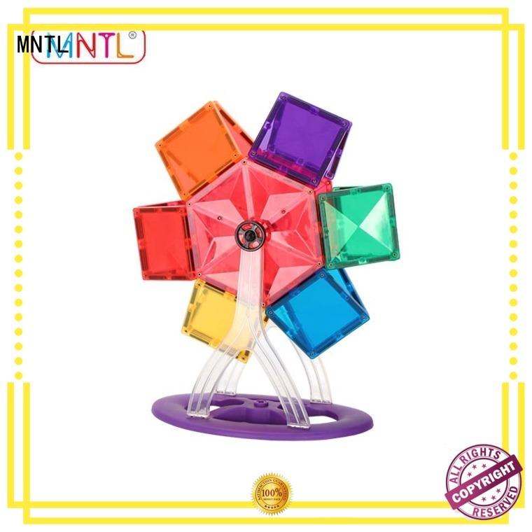 MNTL funky magnetic shape tiles Best building block For kids