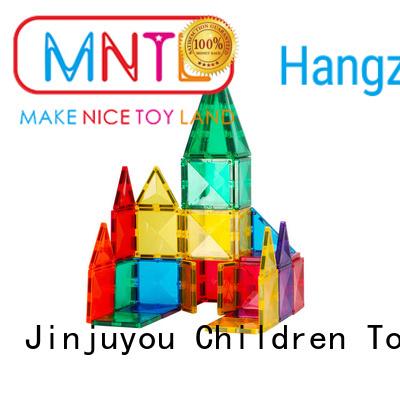 MNTL orange, Magnetic Building Tiles Best building block For kids