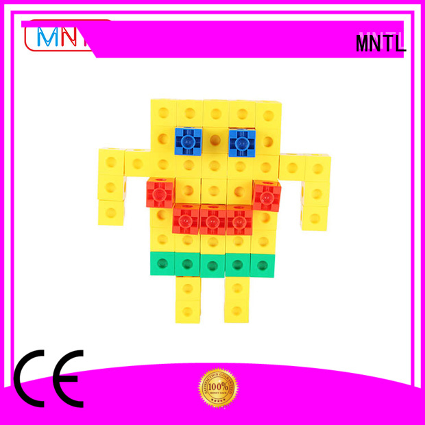 MNTL Recreational Plastic building toys green, For Toddler