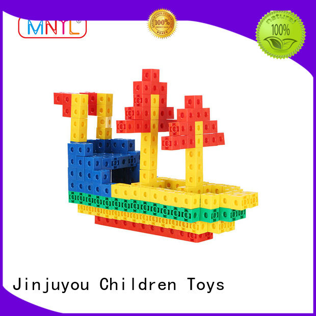 MNTL High quality Plastic building toys orange, For kids