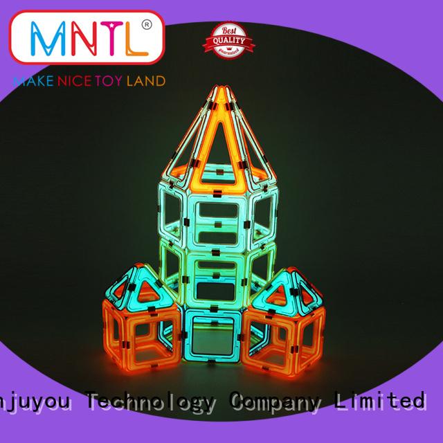 MNTL deep blue, discovery kids magnetic blocks Best building block For Toddler