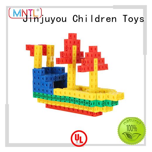 MNTL blue, Plastic Magnetic Building Tiles Recreational For Children