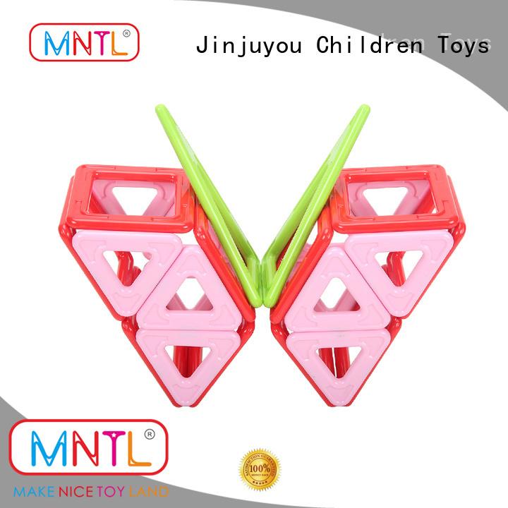 MNTL orange, magnetic blocks for kids Best building block For Toddler