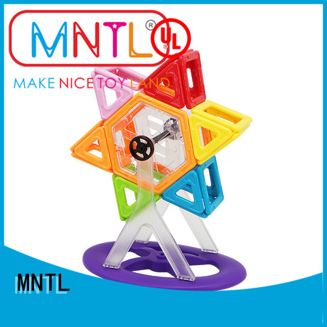 MNTL yellow, Classic Magnetic Building Blocks DIY For kids