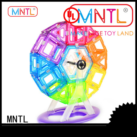 MNTL portable Crystal magnetic toys free sample For Children
