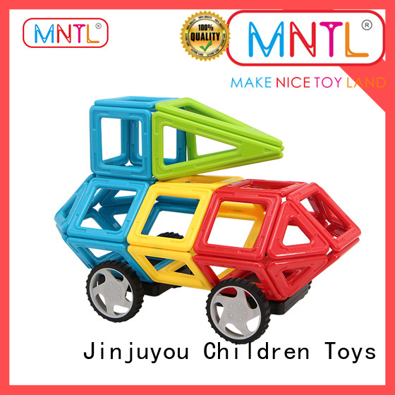 Newest magnetic blocks Red, Magnetic Construction Toys For Children