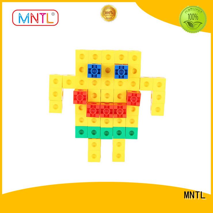 MNTL Strongest Magnets plastic blocks Recreational For Children