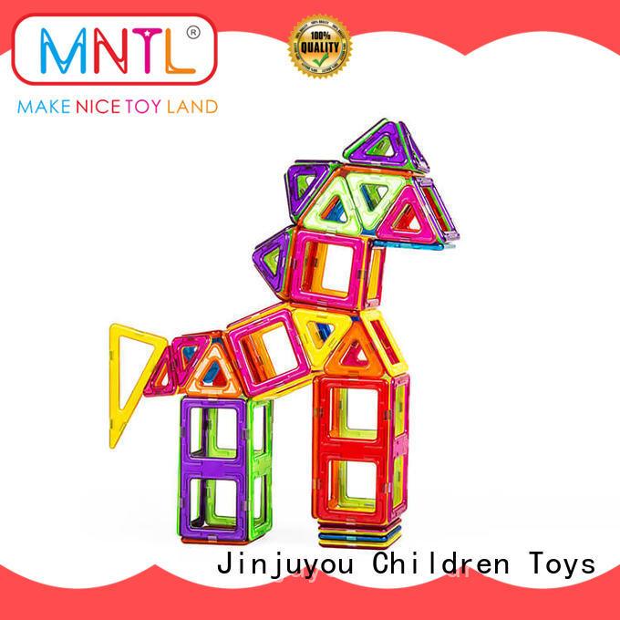 MNTL 2019 magnetic blocks DIY For Children