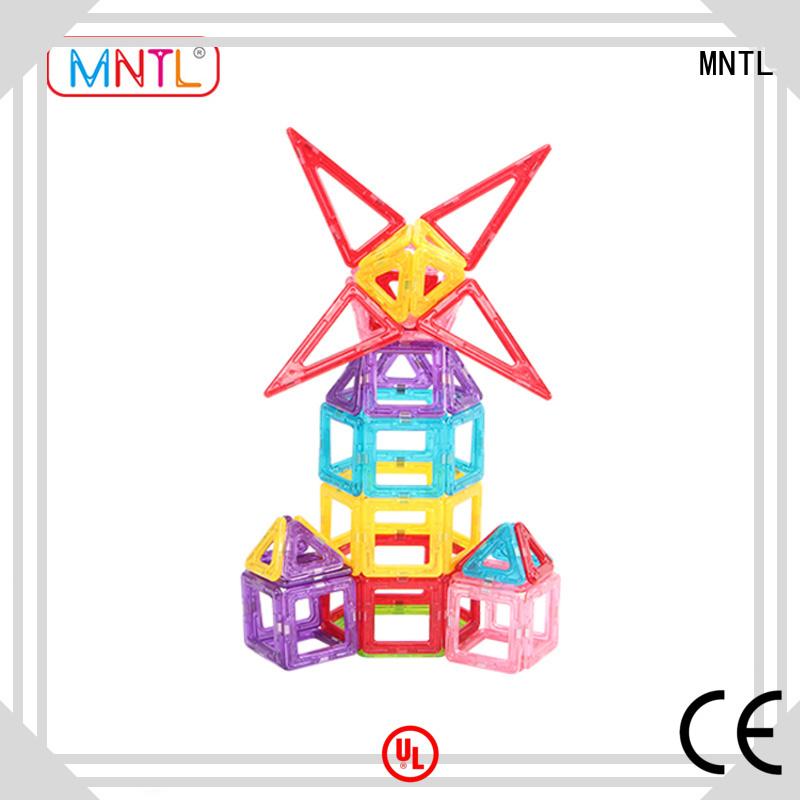 MNTL best magnetic toys Mini Magnetic Building Blocks OEM For Children