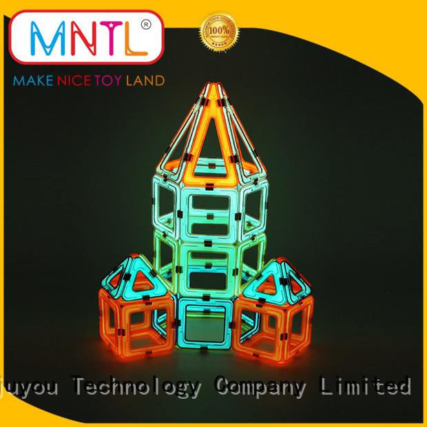 MNTL Newest magnetic blocks Magnetic Construction Toys For Toddler