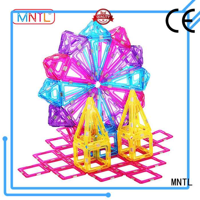 MNTL High quality Crystal magnetic toys customization For Children