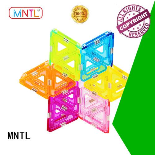 MNTL strong magnet Crystal magnetic toys supplier For Toddler