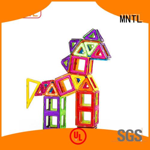 MNTL 2019 magnetic building set Best building block For Toddler