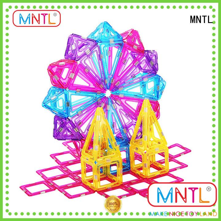 MNTL latest Crystal Magnetic Building Blocks free sample For Toddler