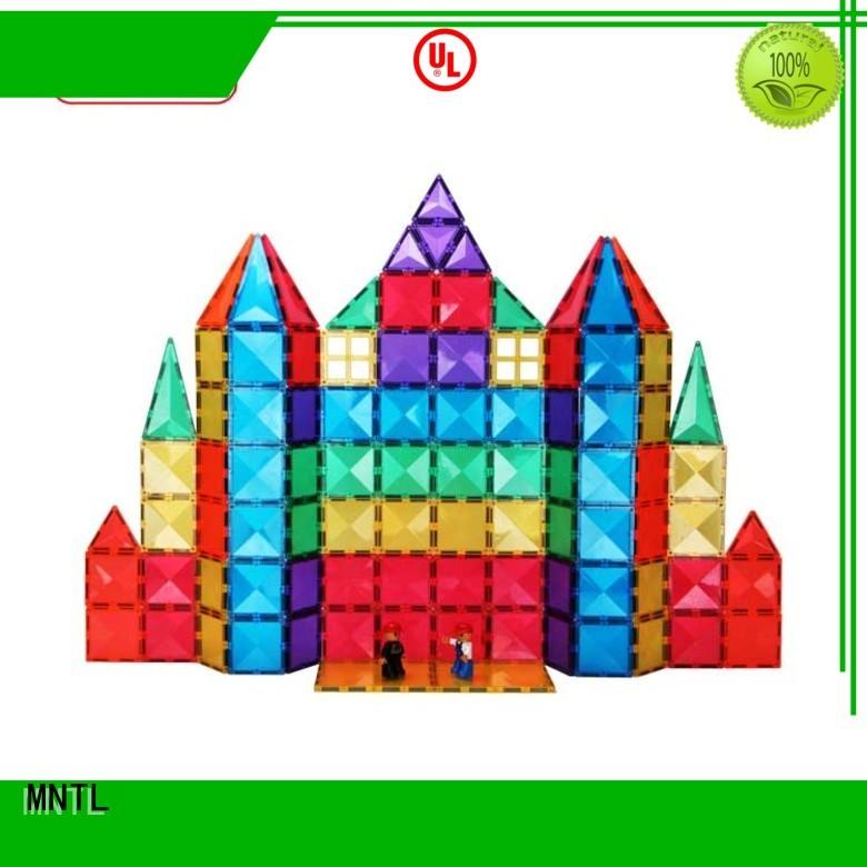 MNTL durable magnetic tile blocks Best building block For kids