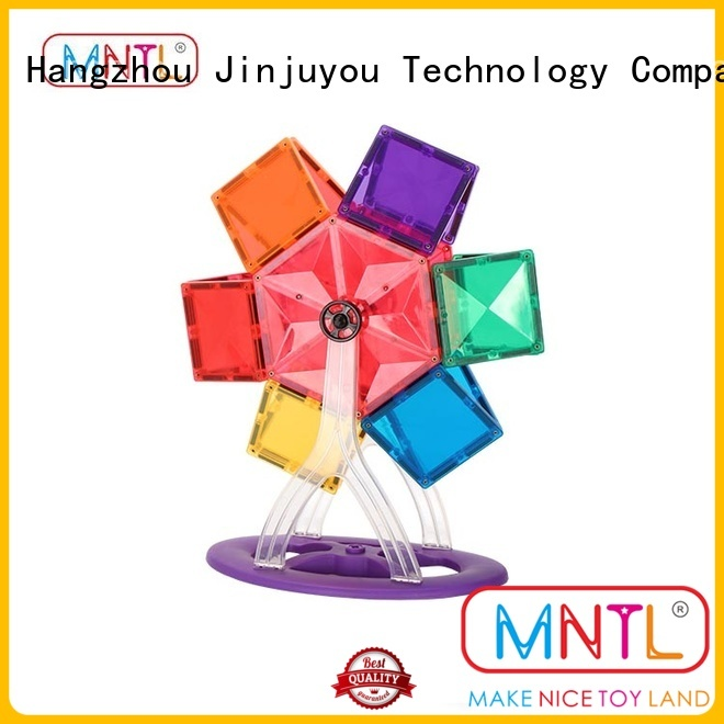 MNTL on-sale magnetic tiles for kids DIY For 3 years old