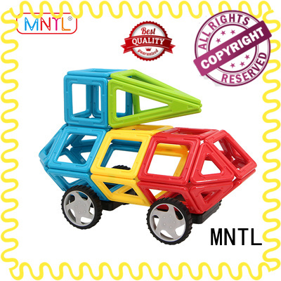 MNTL Red, magnetic blocks DIY For Children