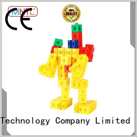 MNTL orange, baby blocks toys ABS plastic For Children