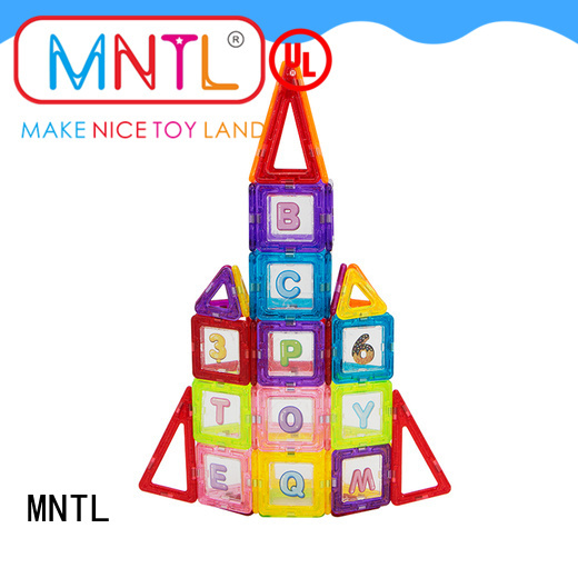 MNTL rose red Mini building magnets OEM For kids over 3 years