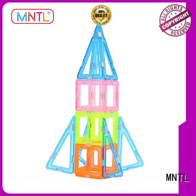 Conventional Crystal Magnetic Building Blocks bulk production For Toddler MNTL