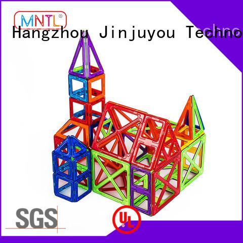 2019 magnetic blocks ABS plastic Magnetic Construction Toys For Children