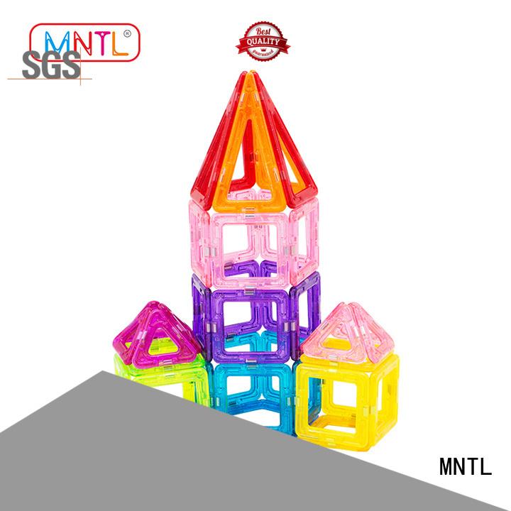 MNTL strong magnet Mini Magnetic Building Blocks for wholesale For Children