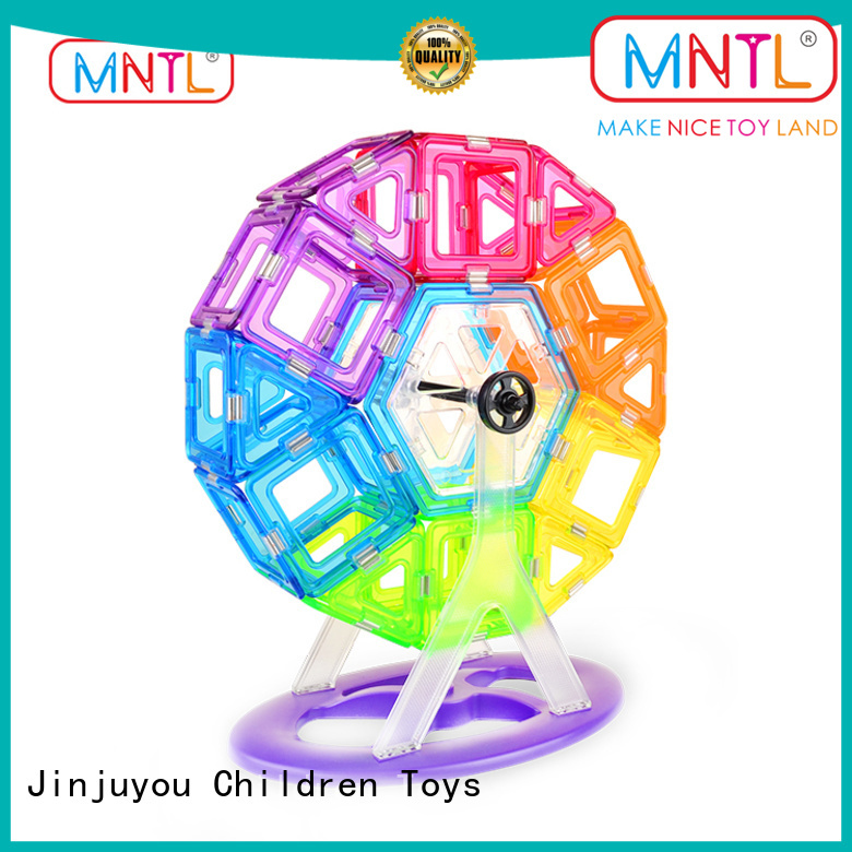 MNTL funky magnetic squares and triangles ODM For Children