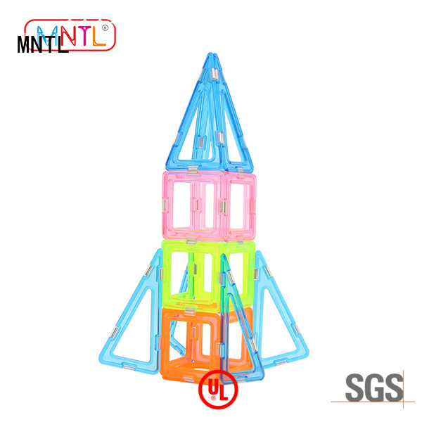 MNTL Conventional Crystal Magnetic Building Blocks for wholesale For Children