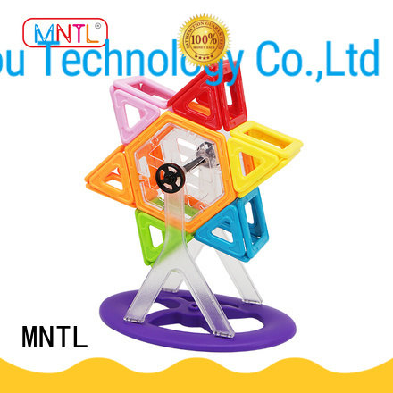 MNTL Newest magnetic toys for toddlers yellow, For Toddler