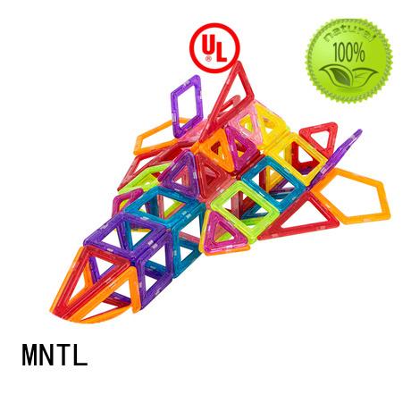 MNTL purple Mini magnetic tiles ODM For Children