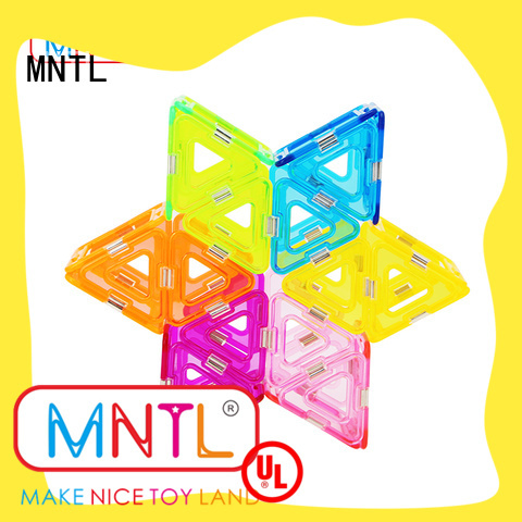Crystal Magnetic Building Blocks strong magnet For kids MNTL