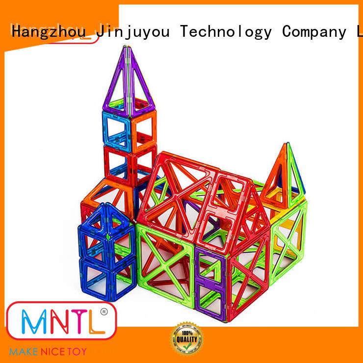 Hot building block magnet block toy yellow, Best building block For Children
