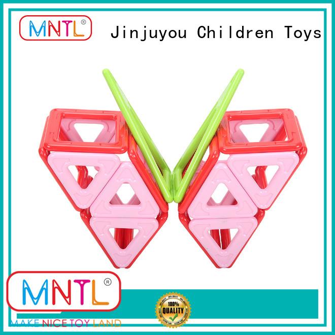 MNTL Red, magnetic building toys Best building block For Children