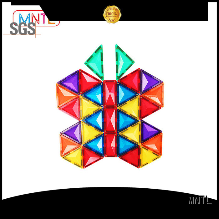 MNTL funky magnet tiles toys kids Magnetic Construction Toys For 3 years old